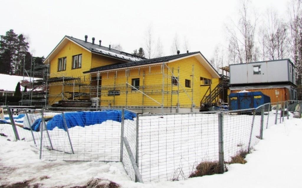 Henttaan rakennustyömaa