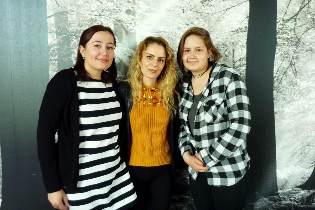 Emine, Besiana ja Marikki löysivät valmentavasta koultuksesta suunnan jatko-opiskeluille.