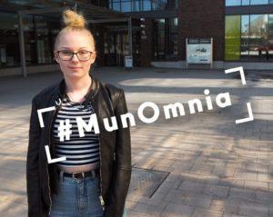 Helmi Ryynanen sai lisäpisteitä ammattikorkeakouluopinnoista.