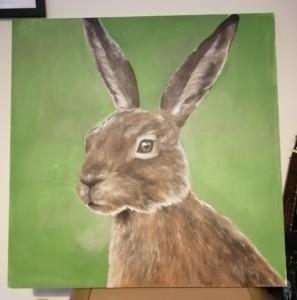 Piirros jäniksestä